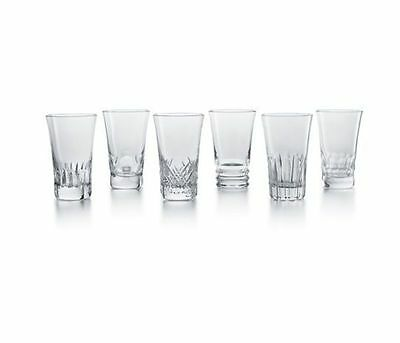 NEW Baccarat Clear Everyday Grande Set of 6 Tumblers