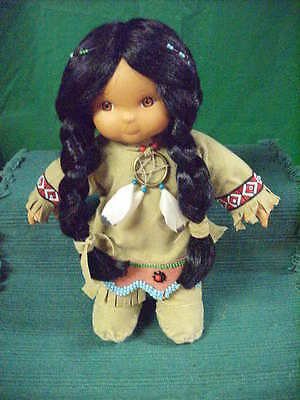 Friends Of The Feather Collector Indian Maiden Doll