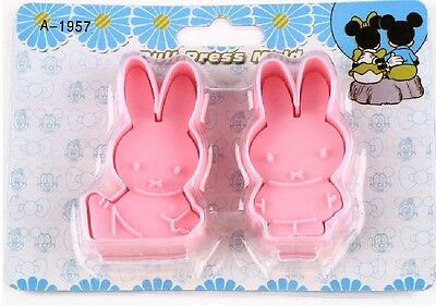 Miffy Rabbit Fondant Cake Decorating Cupcake Chocolate Biscuit Cutter Mold Tools