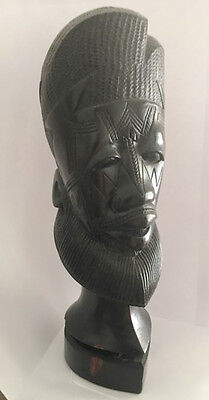 East African Tribal Bust - mid-century