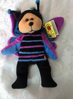 Hover The Butterfly Bear.      Beanie Kid.  NEW. Good Tag
