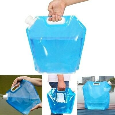 10L Foldable Collapsible Camping BBQ Picnic Water Storage Container Lifting Bag
