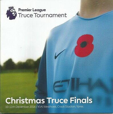 CHRISTMAS TRUCE TOURNAMENT 2016 incl CHELSEA  +