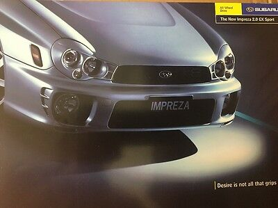 Car Brochure - 2003 Subaru Impreza 2.0 GX Sport - UK