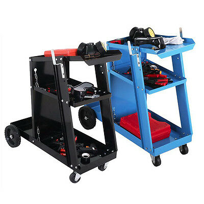 Welding Cart / Trolley For MIG TIG ARC MMA Welder Plasma Cutter Gas Bottles New