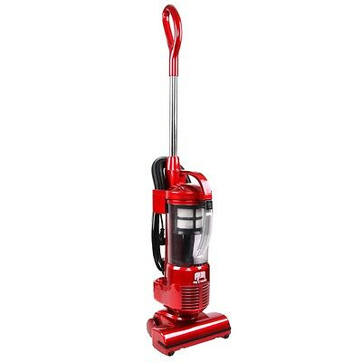 #SALE Effison Cyclonic Upright Vacuum Cleaner Bagless Cyclone HEPA Filter Red