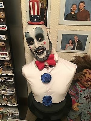 Captain Spaulding Lifesize 1:1 Horror Bust.