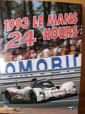 LE MANS 24 HOUR ANNUAL 1993 (new condition)