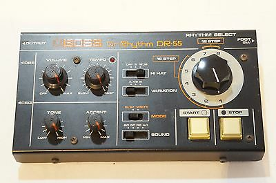 BOSS Dr-55 Dr. Rhythm Vintage Analog Drum Machine Roland World Ship