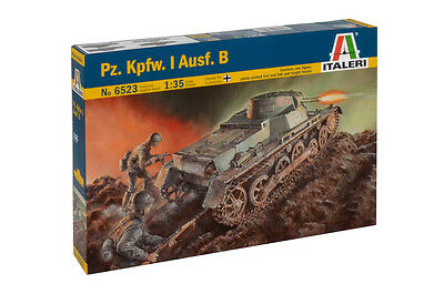 Italeri 6523 1/35  Military Model Kit WWII German Tank Panzer Pz.Kpfw.I Ausf.B