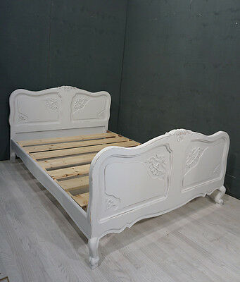 Shabby Chic Double French Bed (BR90)
