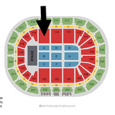 Lady Gaga Tickets x 2 Block 115 Row M - 17th October 2017