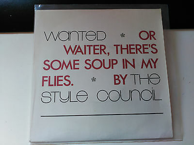 Single The Style Council - Wanted + 2 - Polydor Uk 1987 Vg+