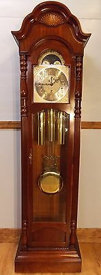 Grandfather Clock(SLIGH 1) - exc cond/exc working order/Hermle triple chimes