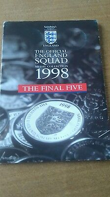 World Cup coins - England - 1998