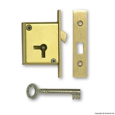 "Mortice Sliding Door Lock - 2 1/2"" - Right Handed"