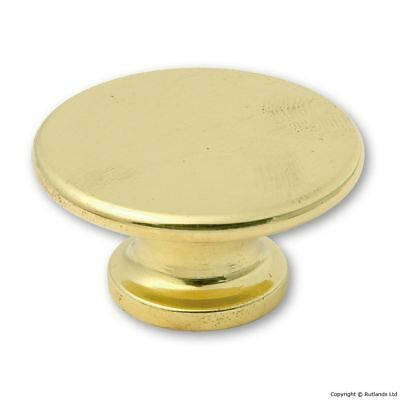 Kitchen Cabinet Knobs - Polished Brass