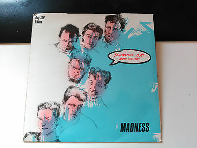 Madness - Tomorrow's Just Another Day - Stiff Uk 1983 Vg+
