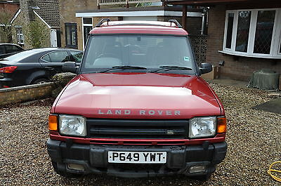 1997 LAND ROVER DISCOVERY XS TDI RED Good Condition 11 months MOT