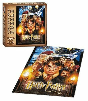 """Harry Potter And The Sorcerer's Stone 550 Piece Collector's Puzzle 18"""" x 24"""" NEW"""