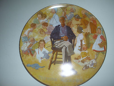 Norman Rockwell Remembered: Collectable Plate