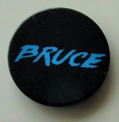Bruce Springsteen 'bruce' Vintage Metal Pin Badge The River Tour 1980 - The Boss