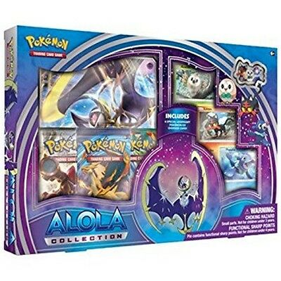 Pokemon TCG: Alola Moon Collection Box Brand New and Sealed