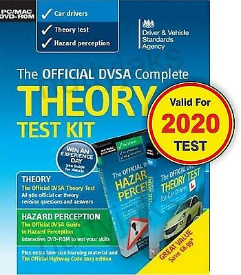 Official DVSA Complete Theory Test Kit for PC and Mac. Valid 2017-2018 Tests
