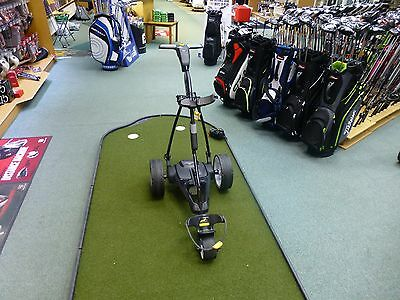Powakaddy Golf FW3 Electric Trolley - With Lithium Battery And Charger - Black