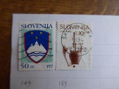 Slovenia - Various Stamps