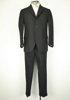 40 Shrt 1960s Chester Barrie 3 Button Prince Wales Check Suit Hawkes Savile Row