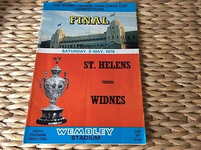 Rugby League Challenge Cup Final official programme  1976