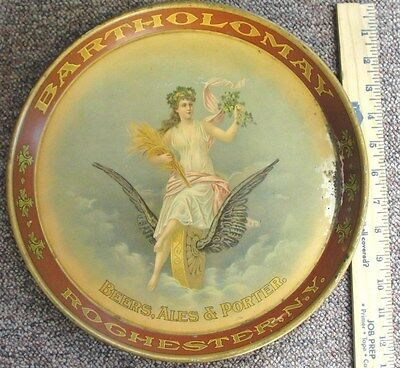 "Bartholomay Brewing Rochester, N.Y. 12"" Beer Serving Tray Pre Pro"