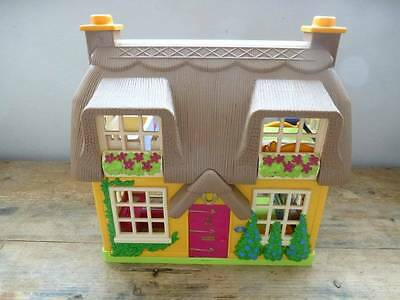 Elc Early Learning Centre Happyland Rose Cottage Doll Play House+Sounds