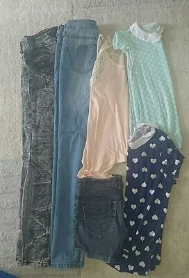 Size 8-10 bundle of ladies clothing. Mango, River Island, Primark.