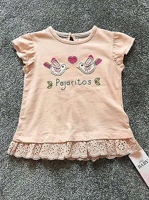 M&S Baby Girl Top 6-9 Months