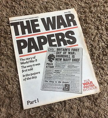 The War Papers - Issues 1 to 10 - Battle of Britain, Churchill, Dunkirk - WWII