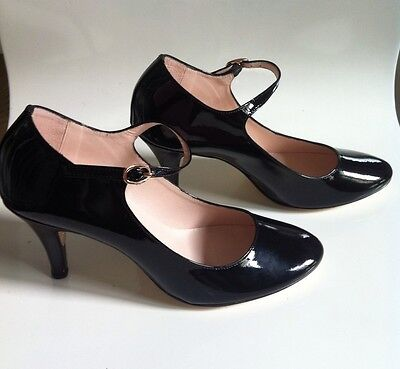 Repetto Chaussures Vernis Noir T37 Neuf