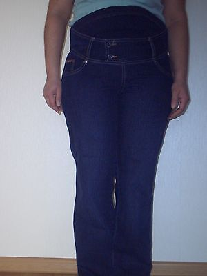 "Trousers "" Dekons ""Pregnant Women Jeans Stretch Blue Height: 157 - 163 m Used"