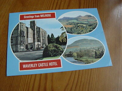 OZ641 - Multi-View Postcard - Greeting From Melrose Waverley Castle Hotel 1988