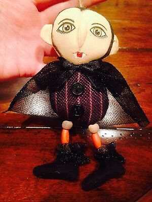 Pier 1 One Imports Halloween DRACULA Goth Decoration/Ornament New w/ Tags