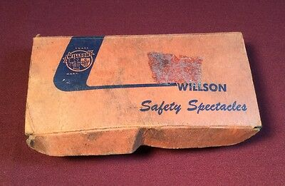 Vintage Willson Safety Goggles With Mesh Sideshields