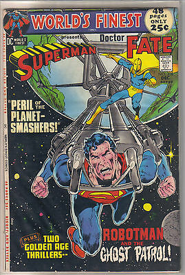 World's Finest #208 - Superman - Dr Fate - Hi Res - Very Good