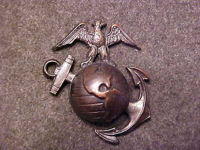 Bronze 1926 Design Usmc Officer Clutchback Collar Ega Marked Eagle H-H Imperial