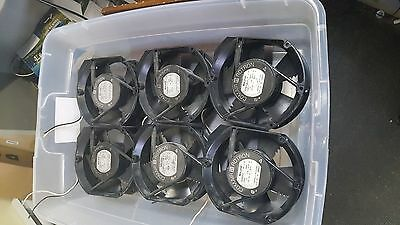 Lot of 6 used working COMAIR ROTRON MR2B3 FAN 115 VAC @ 0.26 AMPS