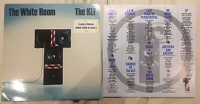 The KLF - The White Room Vinyl LP - Complete - Very Good Condition