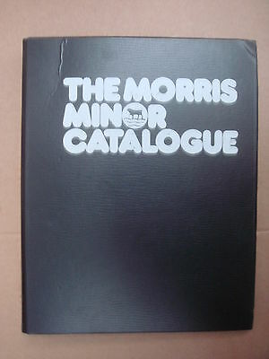 The Morris Minor Parts Catalogue 1980