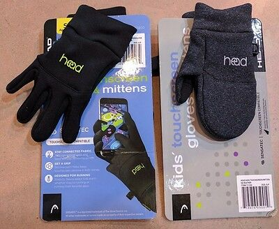 Head Kids Sensatec Touchscreen Gloves & Mittens size/color variation lisitng