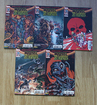 Secret Wars Marvel Zombies Numéros 1 À 5 Comics Vf