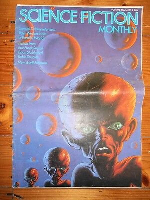 SCIENCE FICTION MONTHLY VOLUME 2 NUMBER 3 (1975) Very Rare UK Sci-Fi Magazine